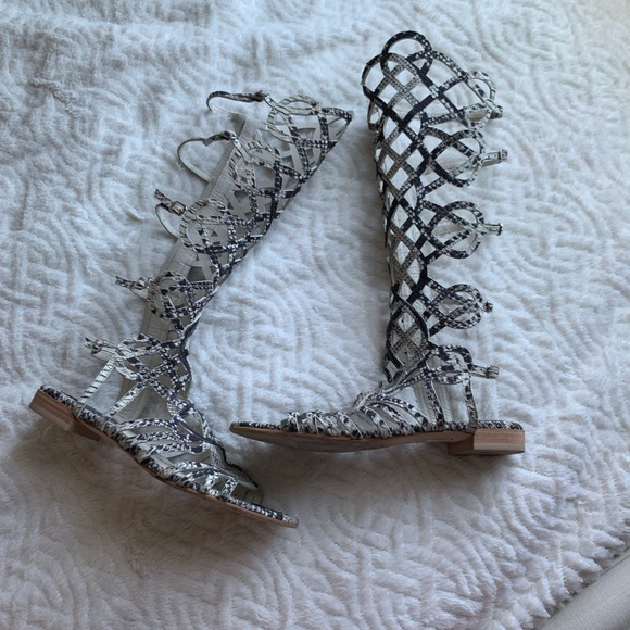 110ce0bcd Stuart weitzman Aphrodite gladiator snake sandal. Stuart Weitzman.  M_5cb8ac4c1153babdf894a942. M_5cef46668d653ddfdc6e2384.  M_5cb8ac4a2eb33f6548f87ca6
